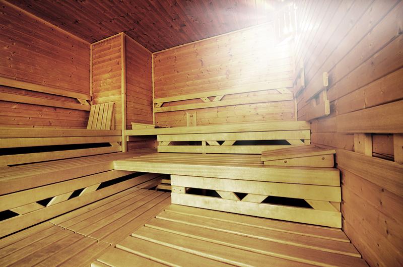 Foto vyhřívárny na sauně
